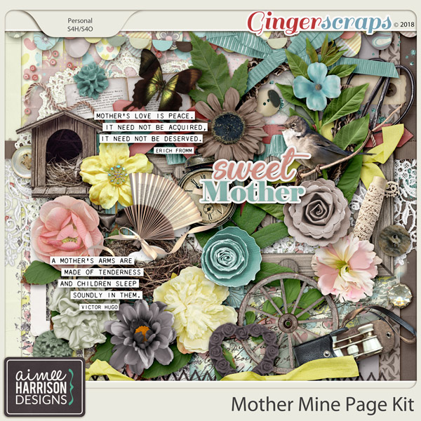 Mother Mine Page Kit by Aimee Harrison