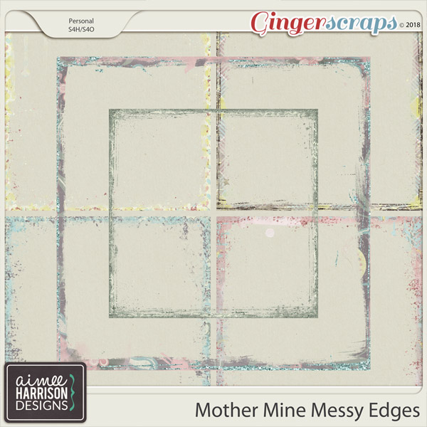 Mother Mine Messy Edges by Aimee Harrison