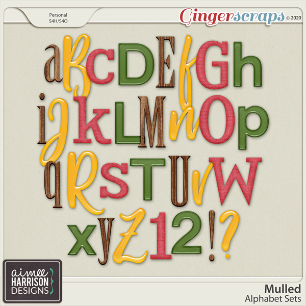 Mulled Alpha Sets by Aimee Harrison