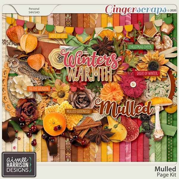 Mulled Page Kit by Aimee Harrison