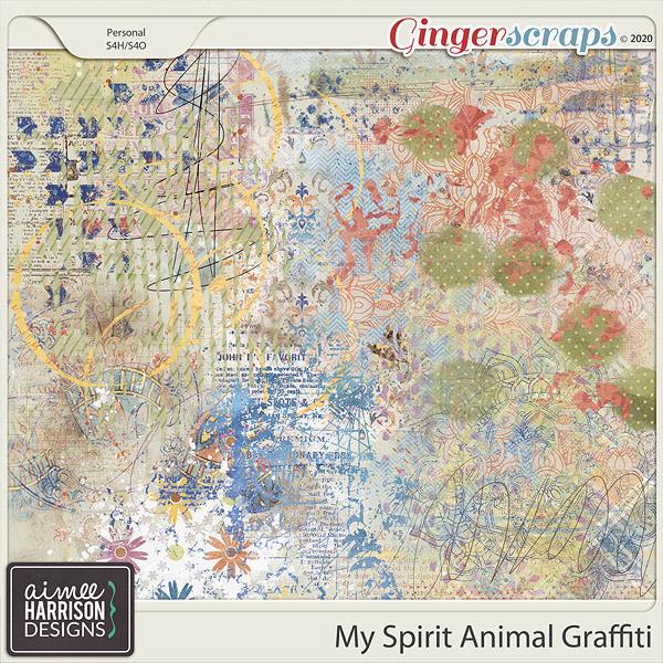 My Spirit Animal Graffiti by Aimee Harrison