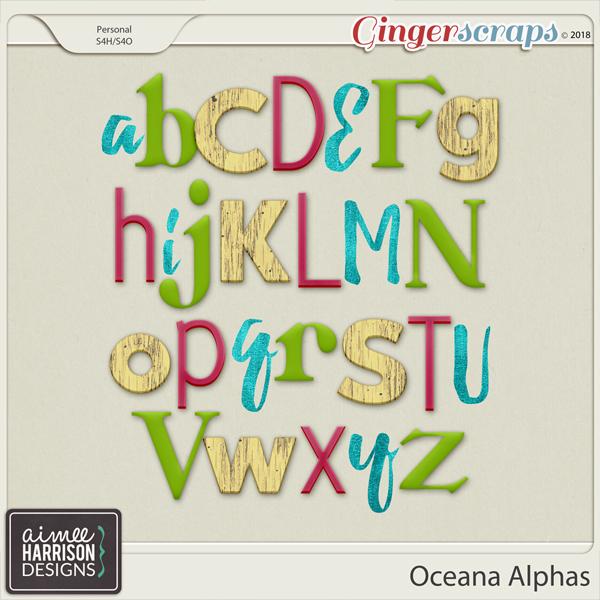 Oceana Alpha Sets by Aimee Harrison
