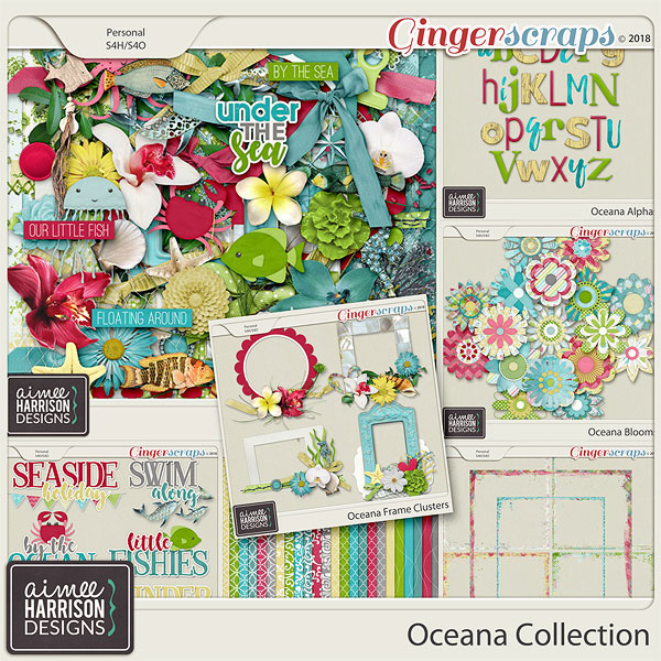 Oceana Collection by Aimee Harrison