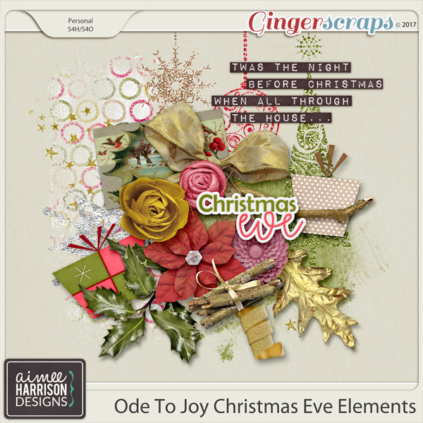 Ode to Joy Christmas Eve Elements Add-on by Aimee Harrison