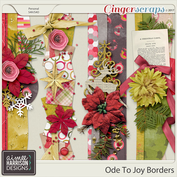 Ode to Joy Borders by Aimee Harrison