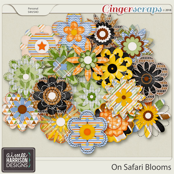 On Safari Blooms by Aimee Harrison