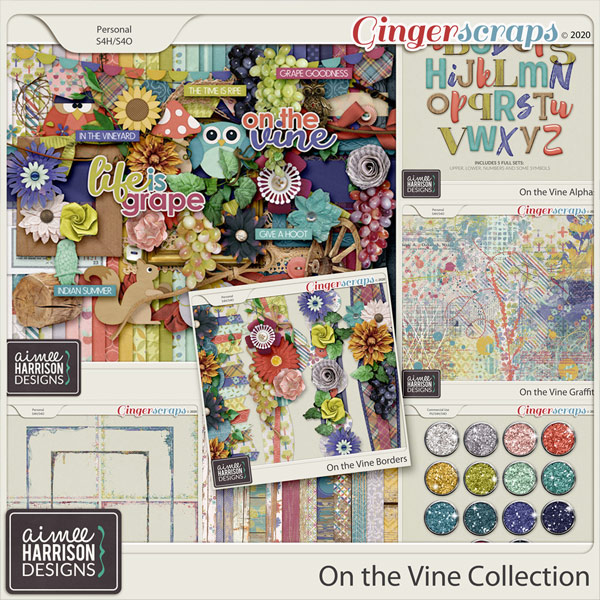 On the Vine Collection by Aimee Harrison