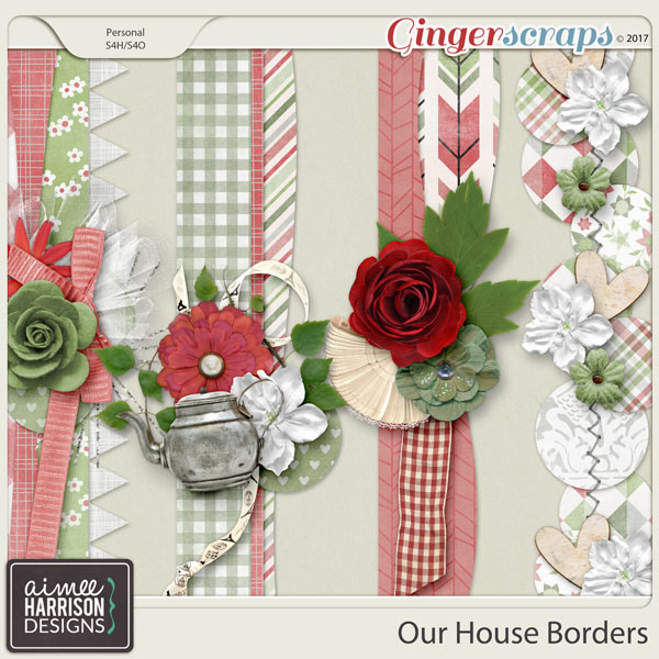 Our House Borders by Aimee Harrison