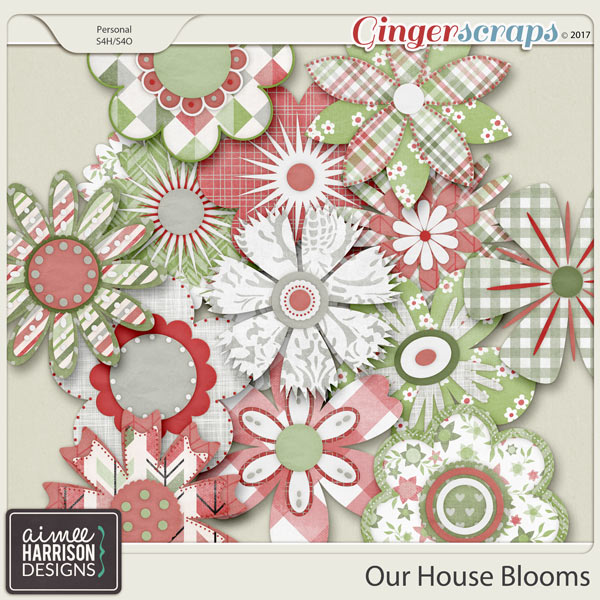 Our House Blooms by Aimee Harrison