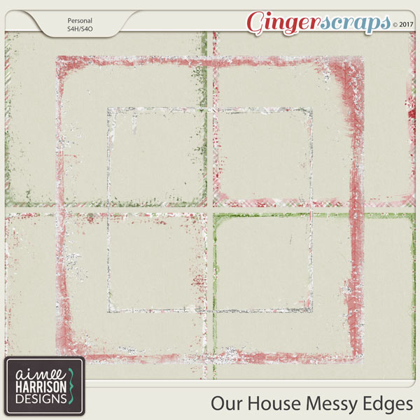 Our House Messy Edges by Aimee Harrison