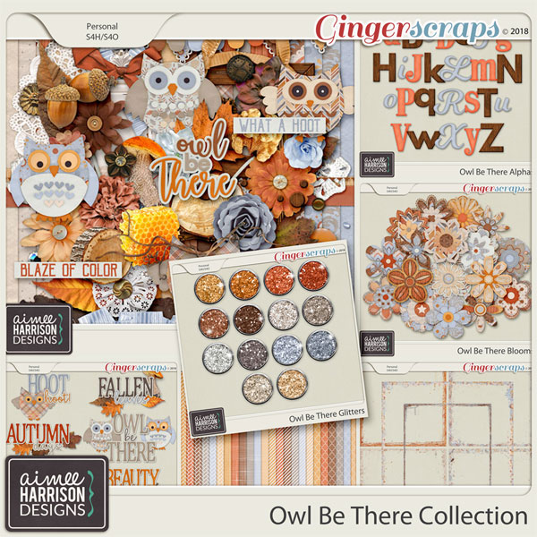 Owl Be There Collection by Aimee Harrison