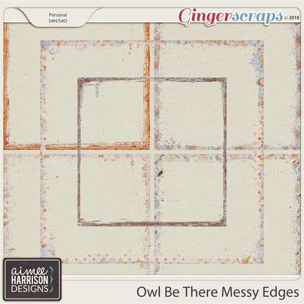 Owl Be There Messy Edges by Aimee Harrison