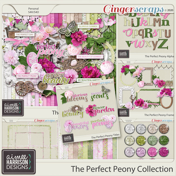 The Perfect Peony Collection by Aimee Harrison