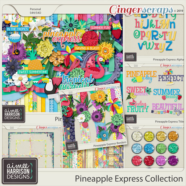 Pineapple Express Collection by Aimee Harrison
