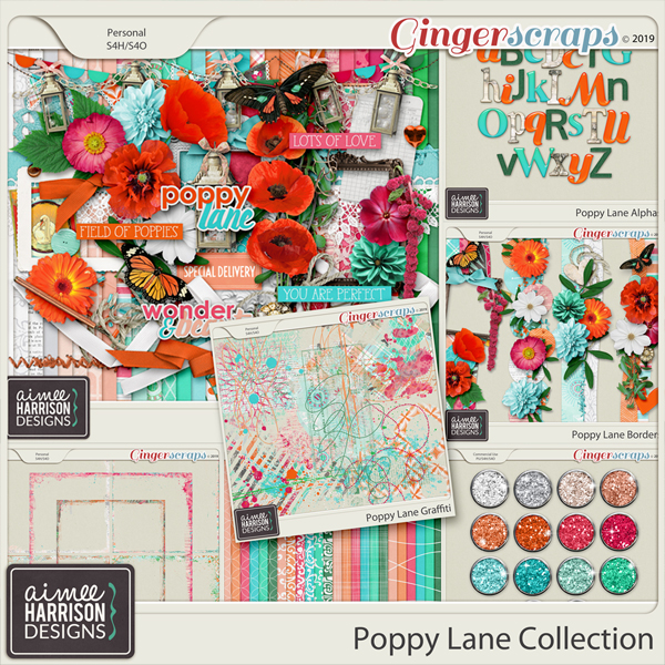 Poppy Lane Collection by Aimee Harrison