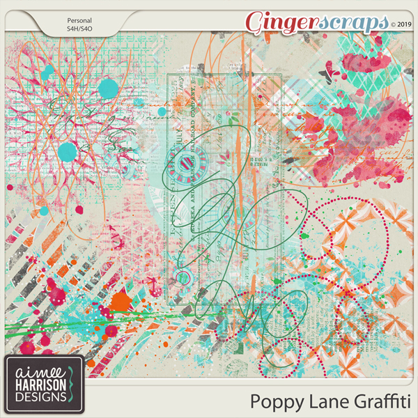 Poppy Lane Graffiti by Aimee Harrison