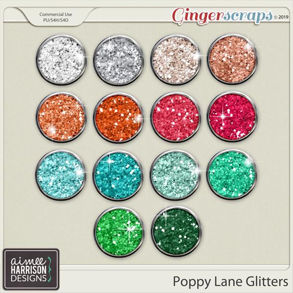 Poppy Lane Glitters by Aimee Harrison