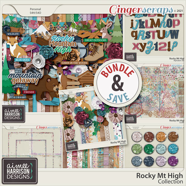 Rocky Mt High Collection by Aimee Harrison