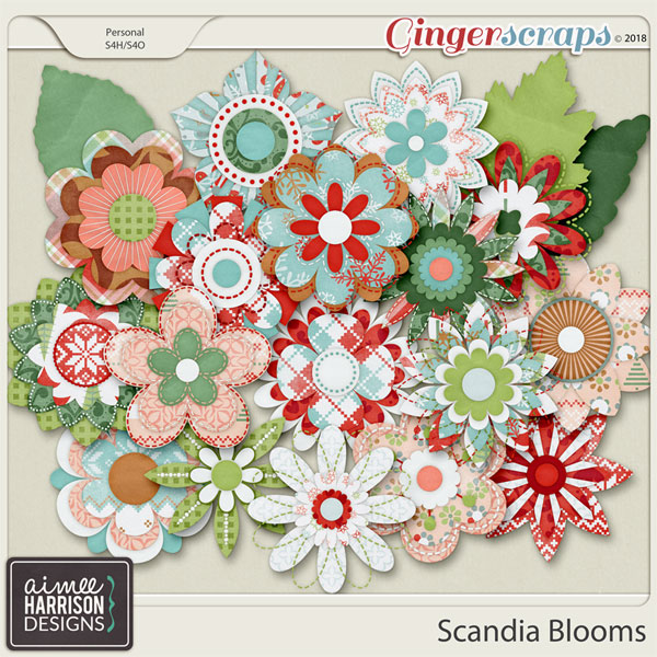 Scandia Blooms by Aimee Harrison