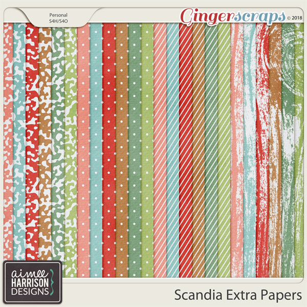 Scandia Extra Papers by Aimee Harrison
