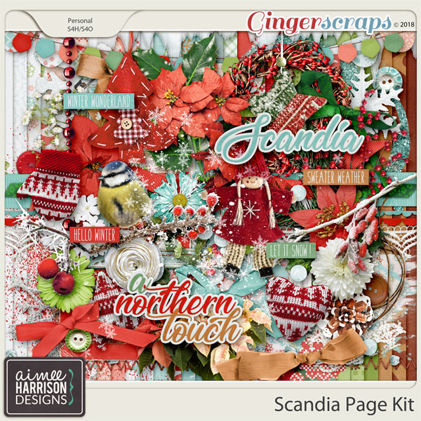 Scandia Page Kit by Aimee Harrison
