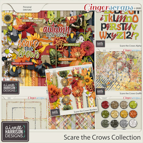 Scare the Crows Collection by Aimee Harrison