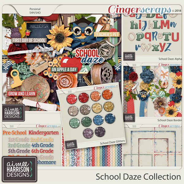 School Daze Collection by Aimee Harrison