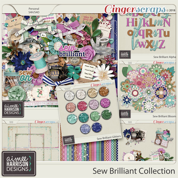 Sew Brilliant Collection by Aimee Harrison