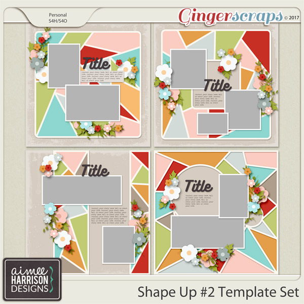 Shape Up #2 Templates by Aimee Harrison