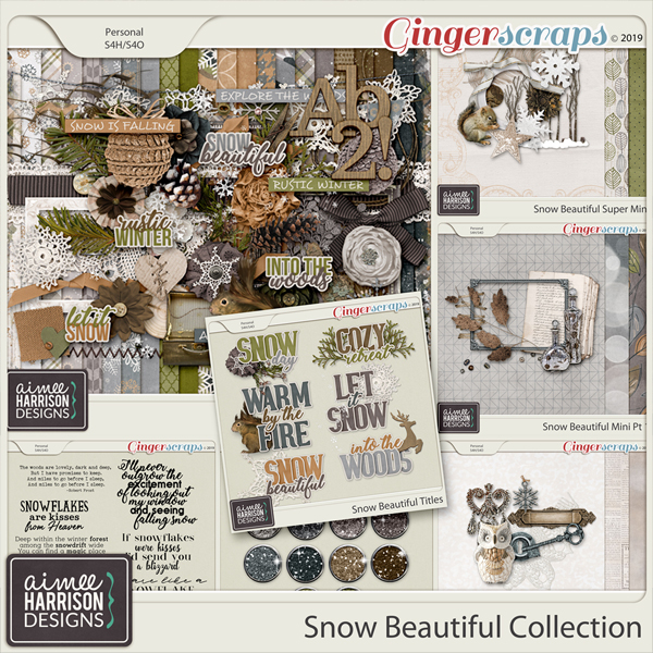 Snow Beautiful Collection by Aimee Harrison