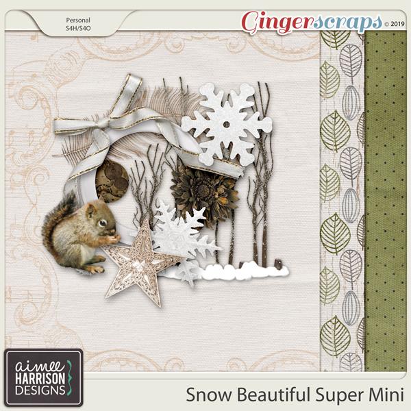 Snow Beautiful Super Mini Kit by Aimee Harrison