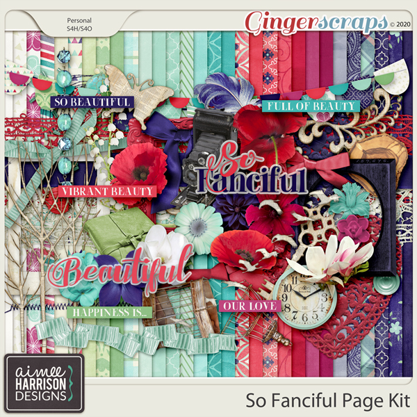 So Fanciful Page Kit by Aimee Harrison