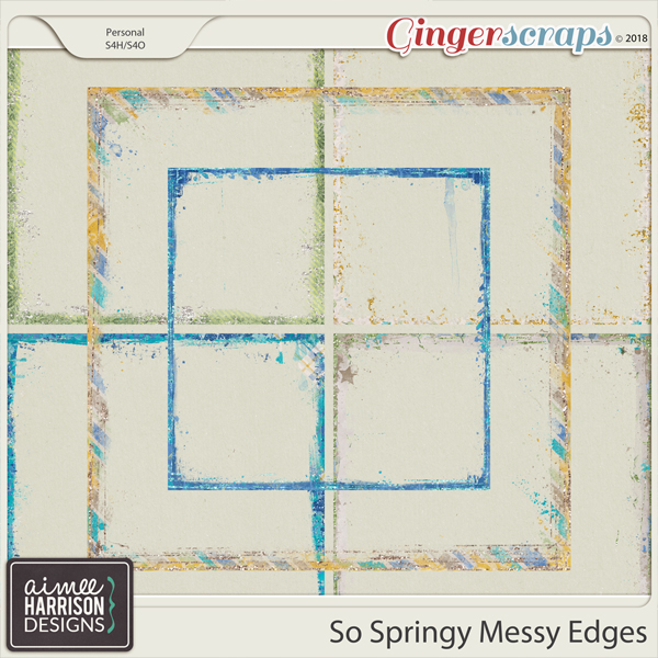 So Springy Messy Edges by Aimee Harrison