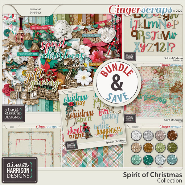 Spirit of Christmas Collection by Aimee Harrison