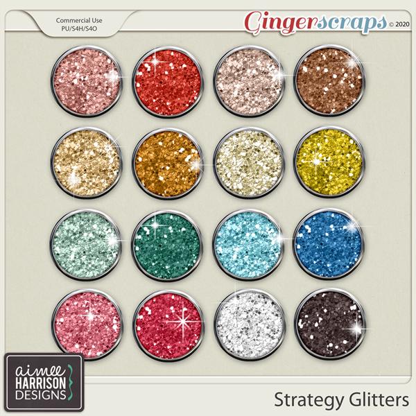 Strategy Glitters by Aimee Harrison
