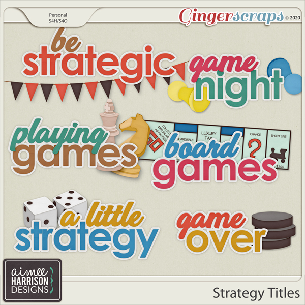 Strategy Titles by Aimee Harrison