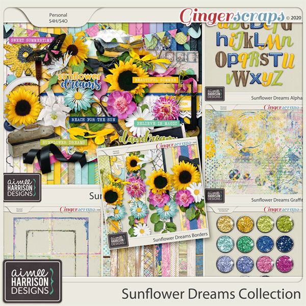 Sunflower Dreams Collection by Aimee Harrison