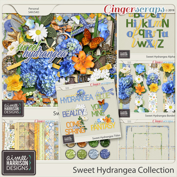 Sweet Hydrangea Collection by Aimee Harrison