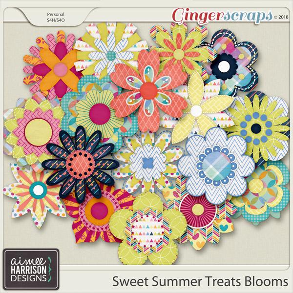 Sweet Summer Treats Blooms by Aimee Harrison