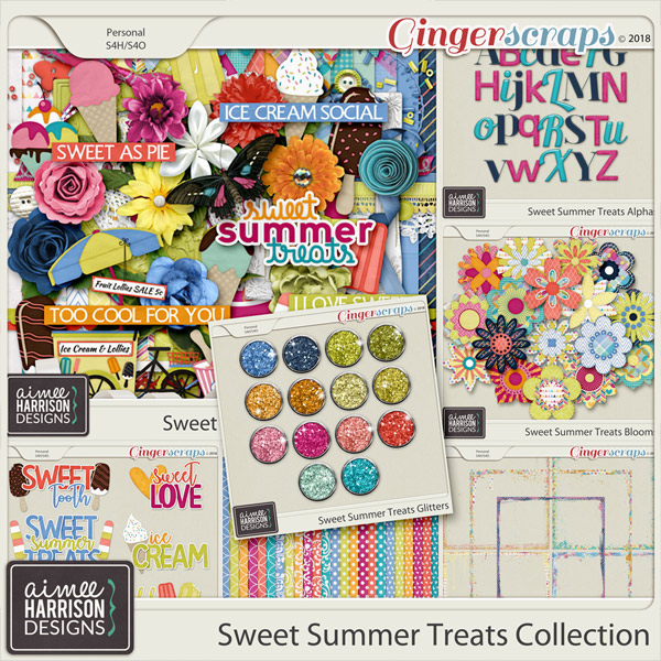 Sweet Summer Treats Collection by Aimee Harrison