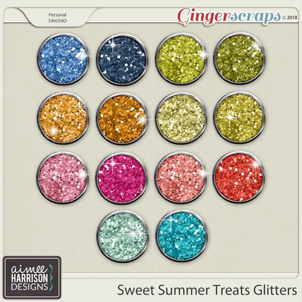 Sweet Summer Treats Glitters by Aimee Harrison