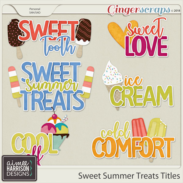 Sweet Summer Treats Titles by Aimee Harrison