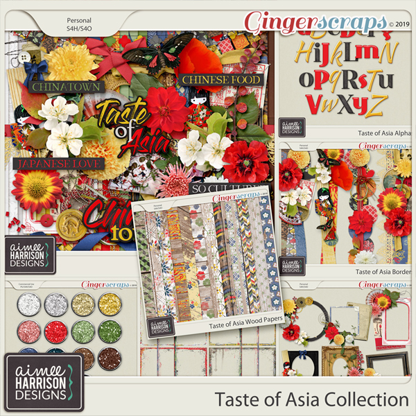 Taste of Asia Collection by Aimee Harrison