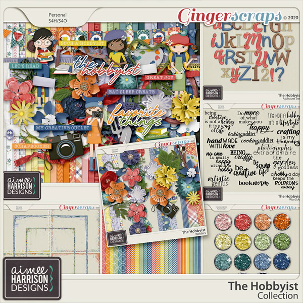 The Hobbyist Collection by Aimee Harrison