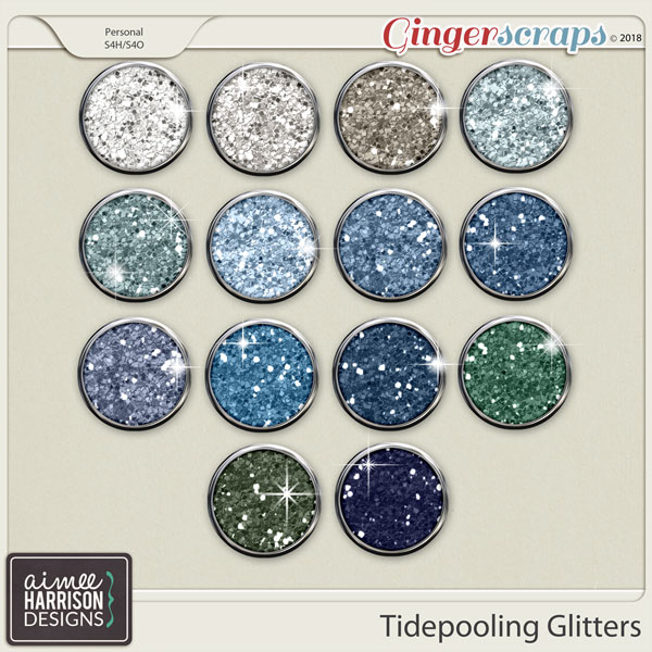 Tidepooling Glitters by Aimee Harrison