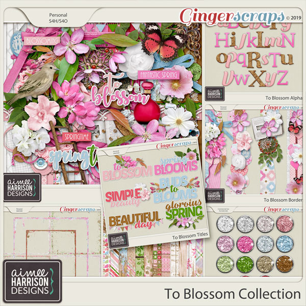 To Blossom Collection by Aimee Harrison