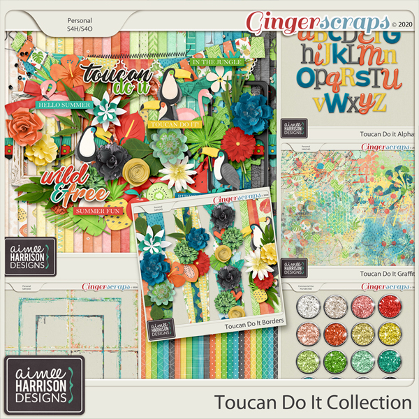 Toucan Do It Collection by Aimee Harrison