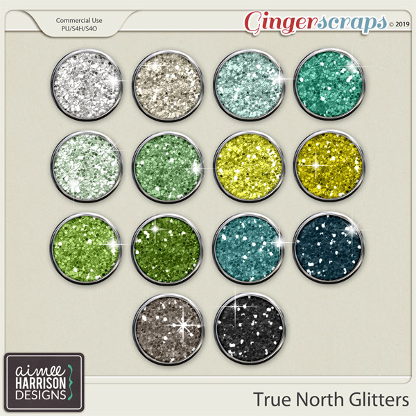 True North Glitters by Aimee Harrison