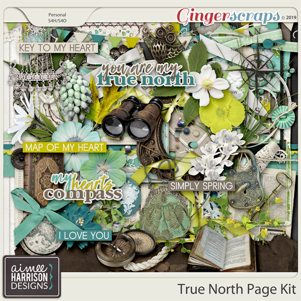 True North Page Kit by Aimee Harrison