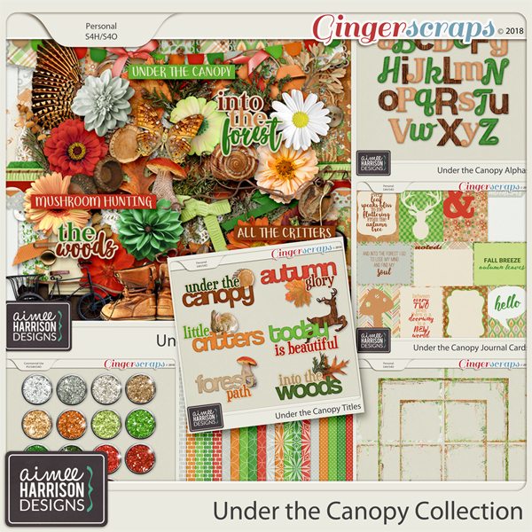 Under the Canopy Collection by Aimee Harrison